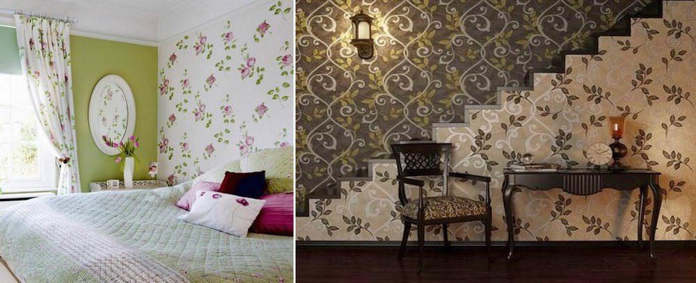 Различные способы комбинирования могут включать в себя использование покрытий в одной цветовой гамме, но с разными рисунками или текстурой