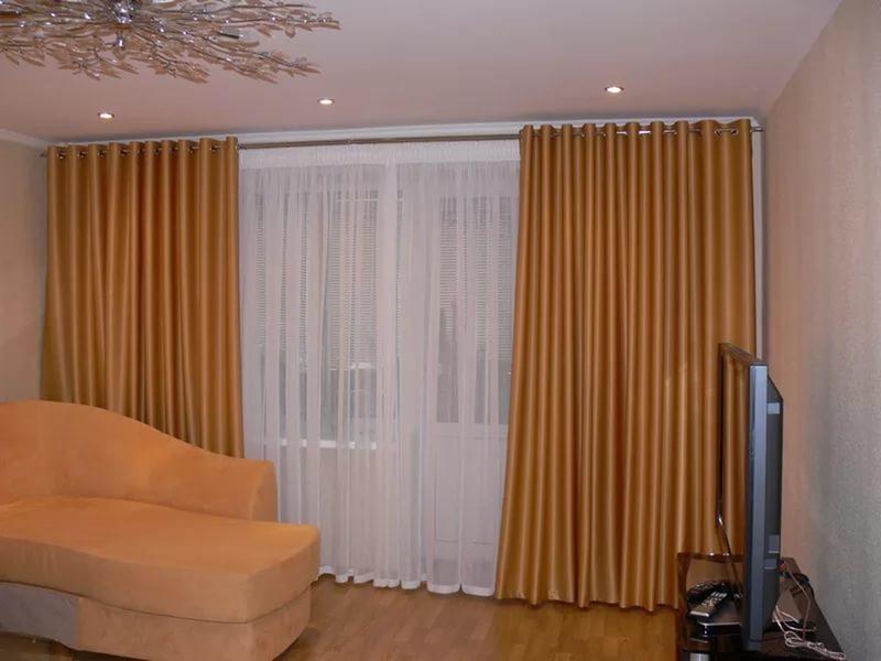 Гардины и шторы для зала