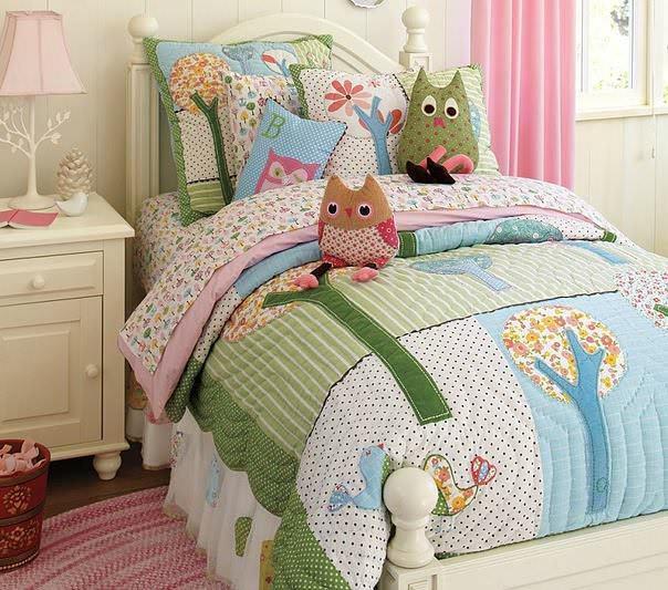 Квилтинг и пэчворк для детской кроватки – спокойный сон вашего малыша