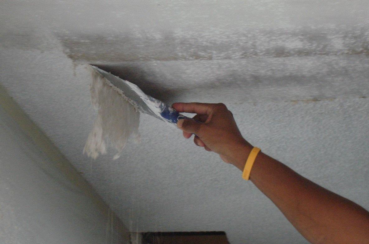 Выравниваем потолок штукатуркой: как выровнят своими руками, видео