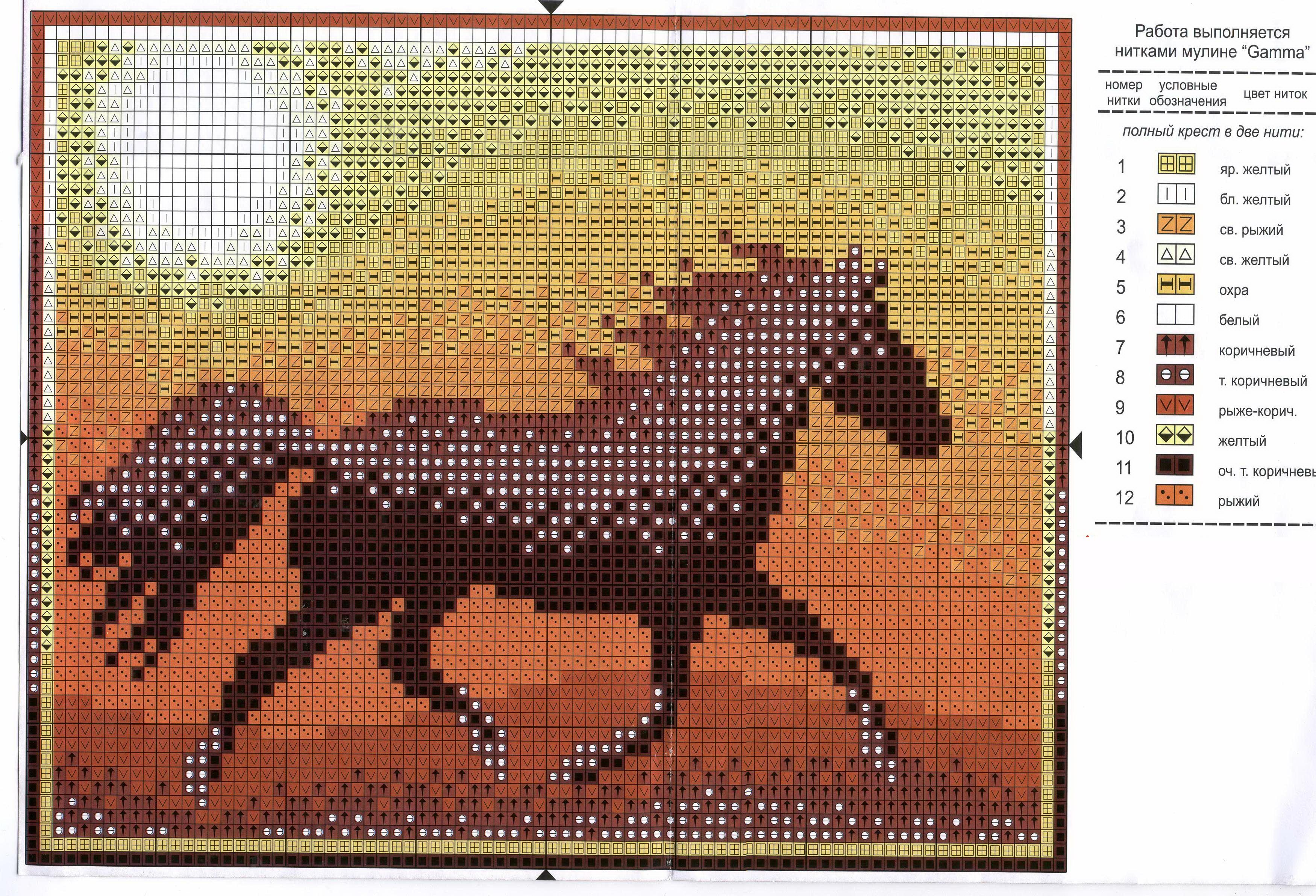 Всю нужную фурнитуру для вышивания лошади, включая схему, можно приобрести в любом специализированом магазине