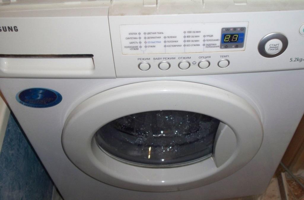 При замене тэна дополнительно следует произвести очистку стиральной машины