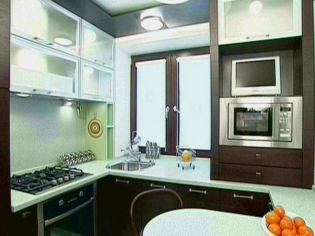 Создав правильный дизайн небольшой кухни, можно получить массу преимуществ