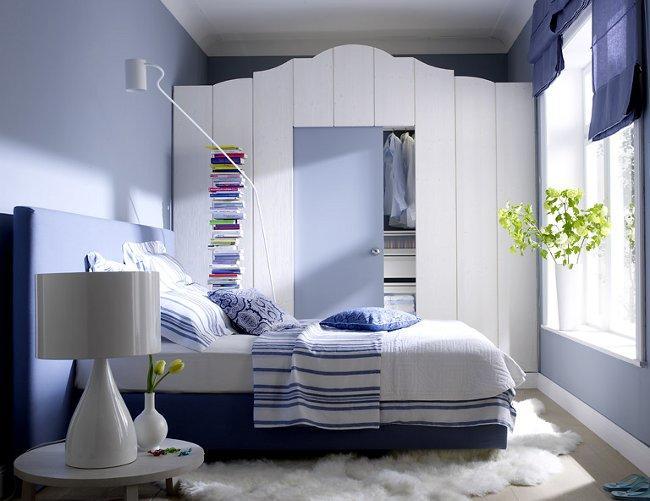 Дизайн маленькой спальни 9 кв