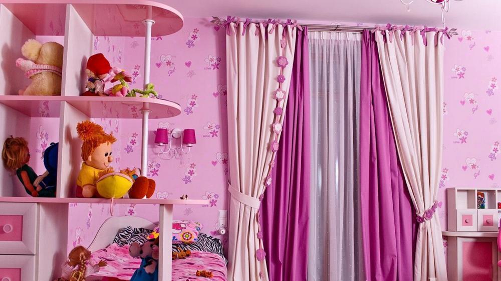 Шторы в детскую для девочек: фото для мальчика, в комнату подростка, детские шторы своими руками, сшить шторы нити, выкройка, видео