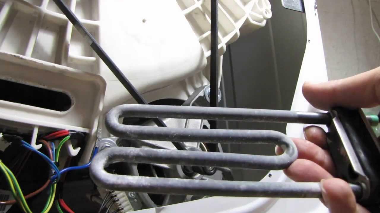 Для того чтобы заменить тэн, необходимо правильно разобрать устройство стиральной машины