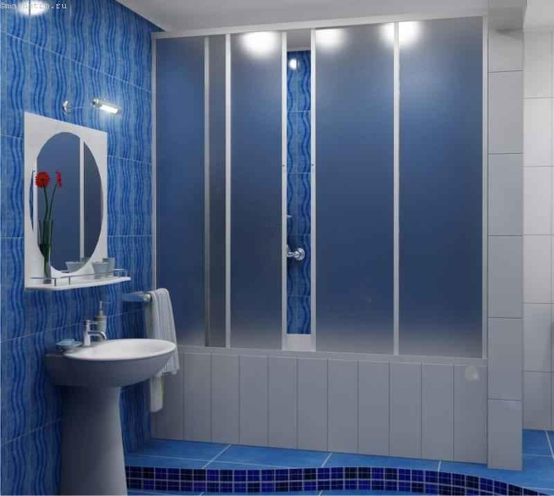 Пластиковые шторки для ванной