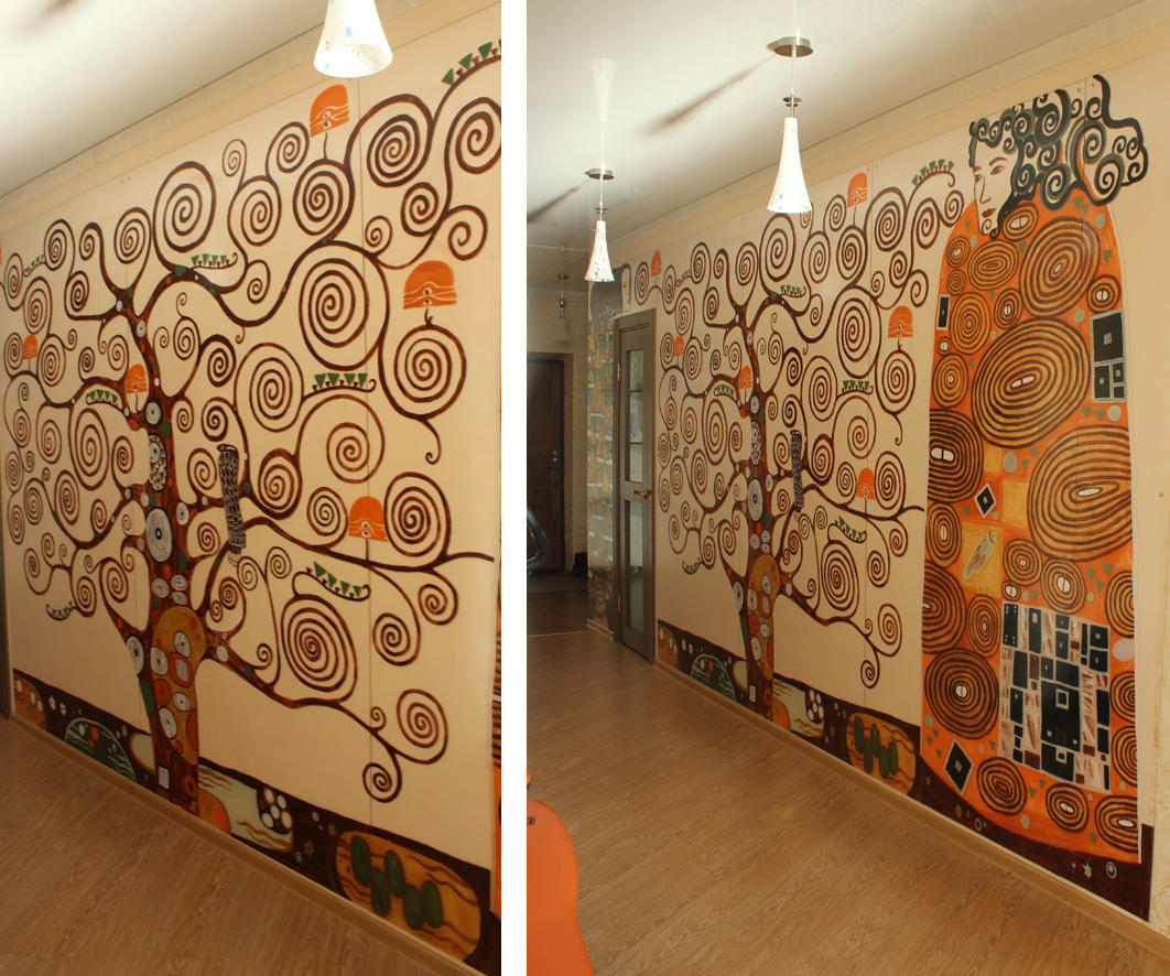При выборе отделки для стен следует учитывать как размеры прихожей, так и ее особенности