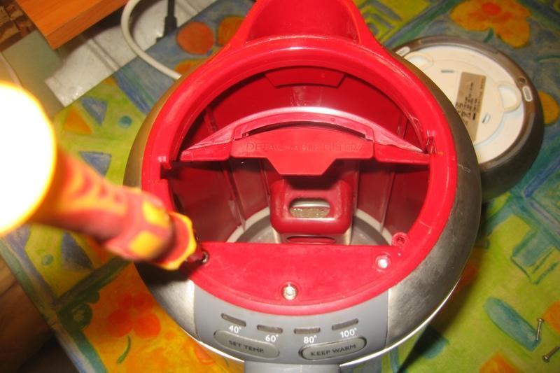 Ремонт электрочайника может стать увлекательным занятием