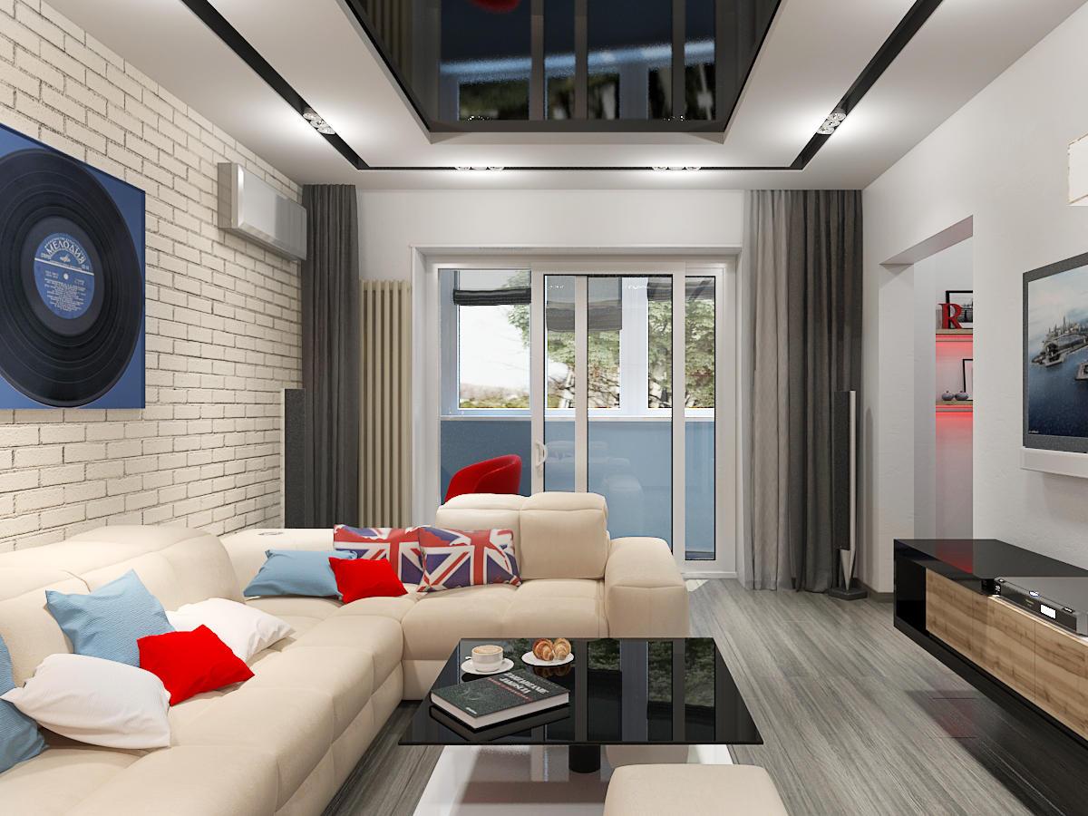 Дополнительно украсить гостиную можно стильной и красивой картиной