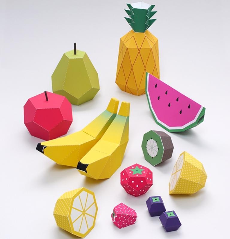 Объемные фигура из картона — это не только интересные поделки, но и обучающие материалы по изучению геометрии