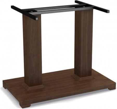 В качестве опор можно использовать уже готовые деревянные, сделанные в виде модуля