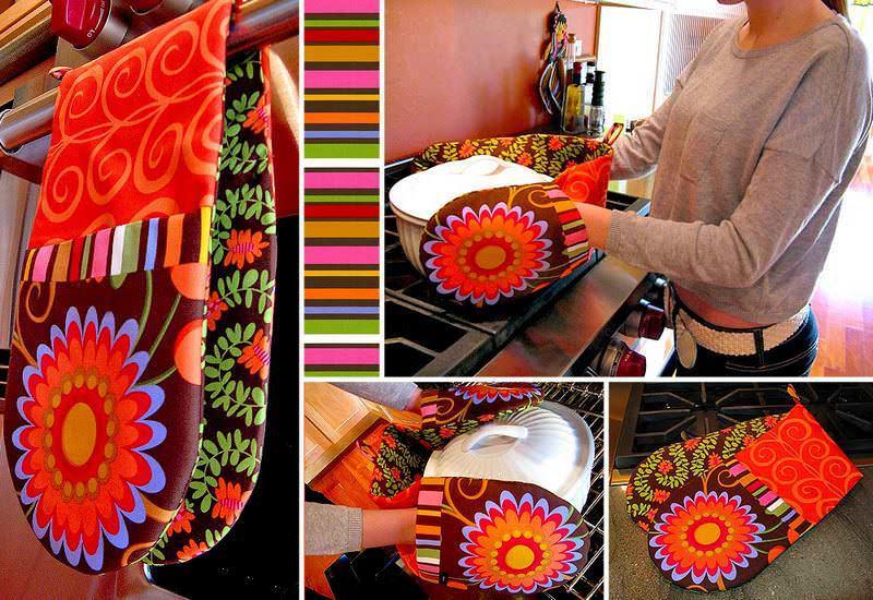 Оригинальная прихватка может стать настоящим произведением искусства, не только украшающим вашу кухню
