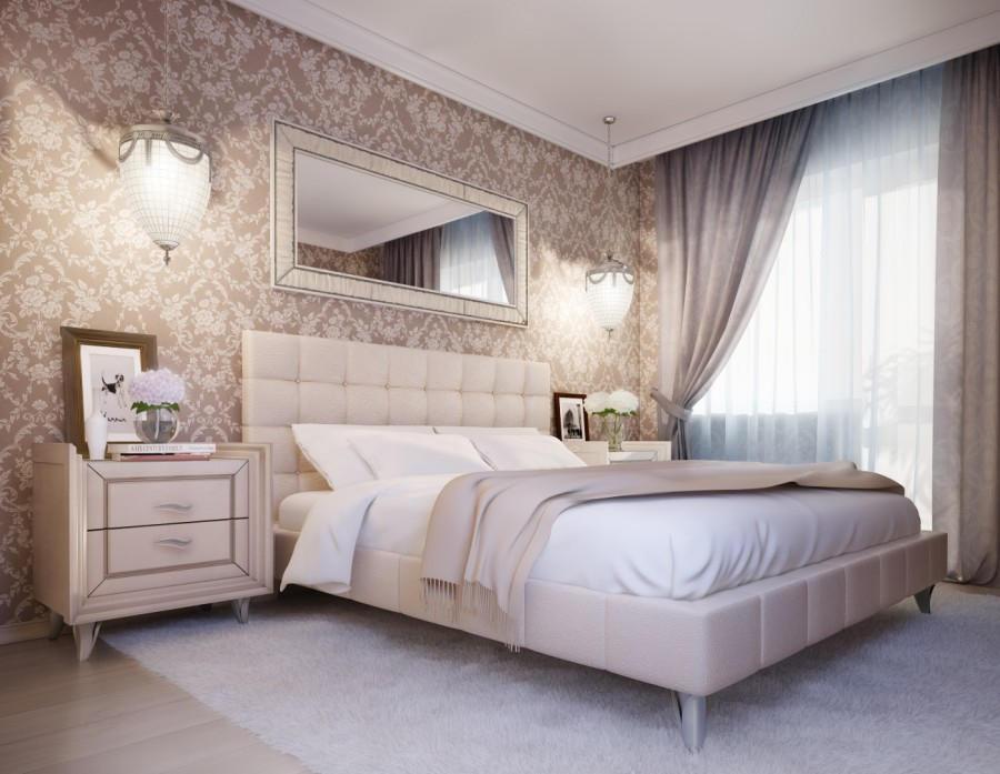 Независимо от того, какой стиль вы выберете для своей спальни, изначально следует определиться с размещением мебели, цветом стен и освещением