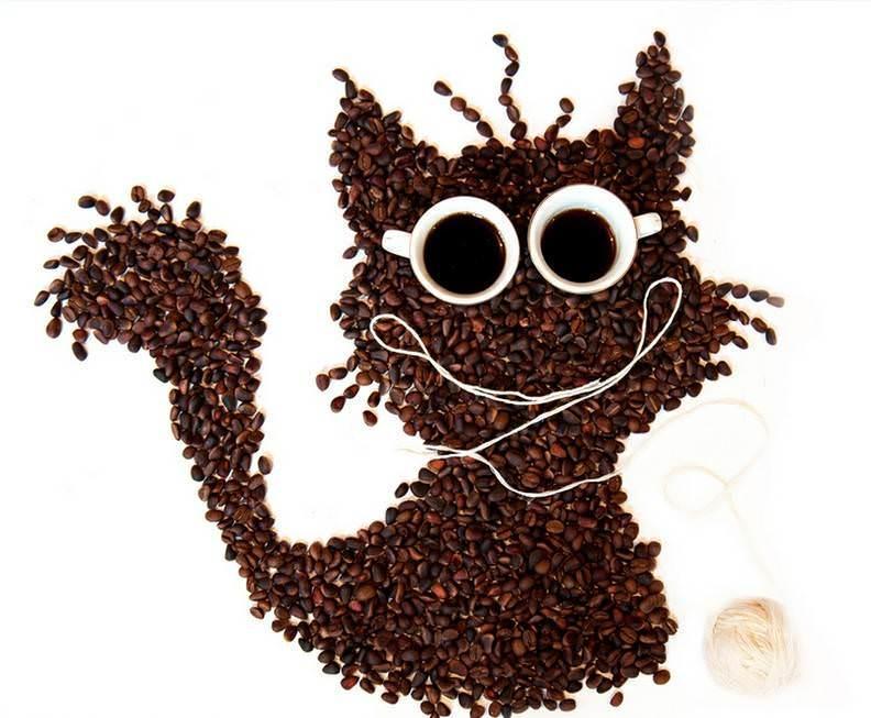 Кофе не только прекрасный напиток, но еще и хороший материал. Ярким примером этому, является панно из кофейных зерен