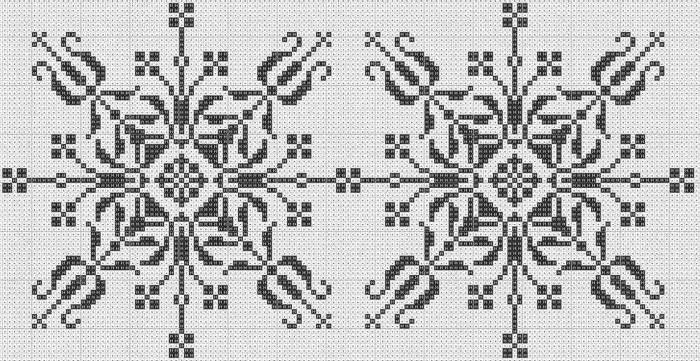 Узоры и орнаменты для вышивки крестом могут отличаться по тематике