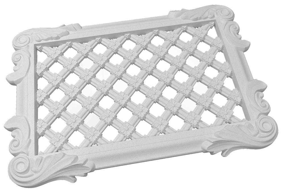 Категорически запрещено покупать решетки для камина из пластика