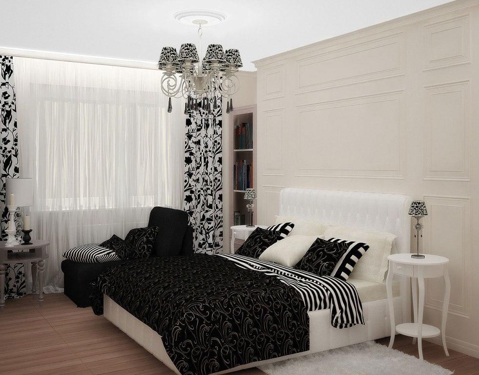 Для того чтобы сделать хороший дизайн в маленькой спальне, нужно правильно подобрать мебель и элементы декора