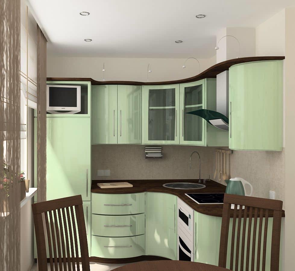 Обладатели хрущевок задаются вечным вопросом: какую кухню сделать в таком маленьком помещении?