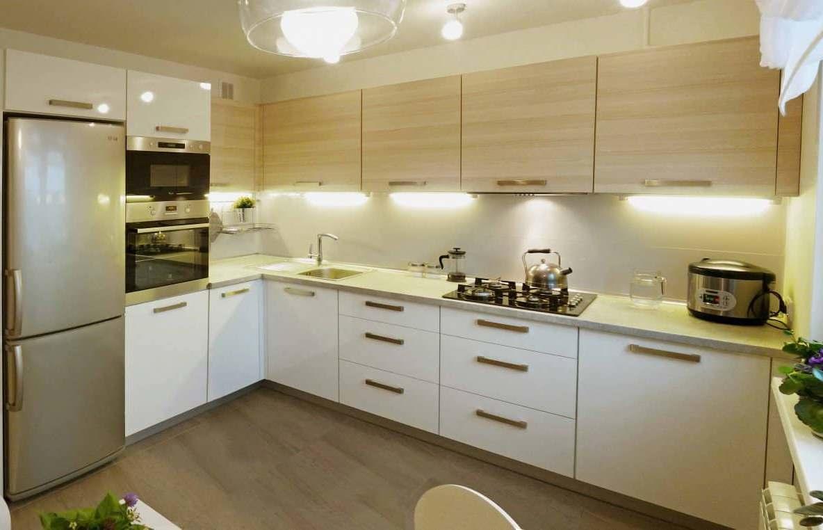 Дизайн угловой кухни 9 кв. м. — непростая задача, ее нужно сделать удобной, уютной, стильной и функциональной
