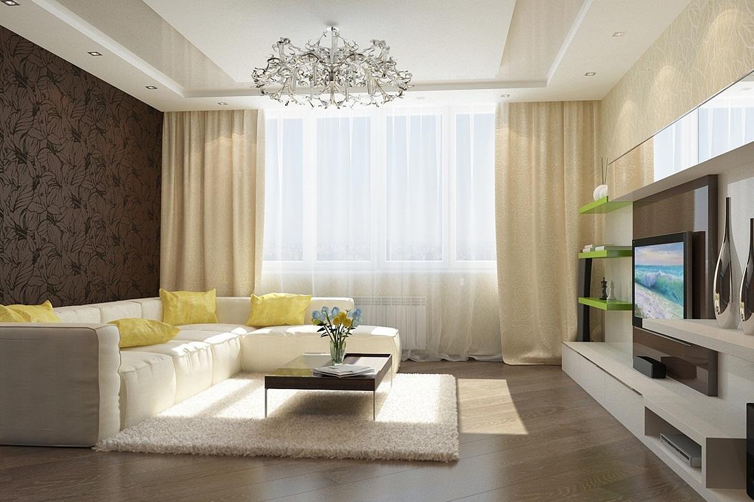 Для увеличения степени комфорта перед диваном рекомендуется постелить мягкое ковровое покрытие