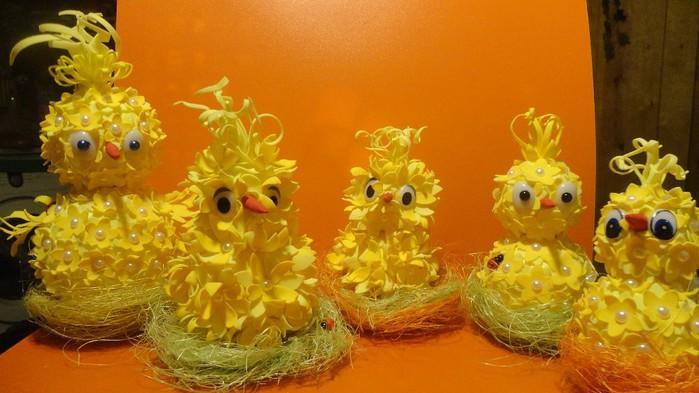 Цыпленок из фоамирана однозначно получится даже у ребенка