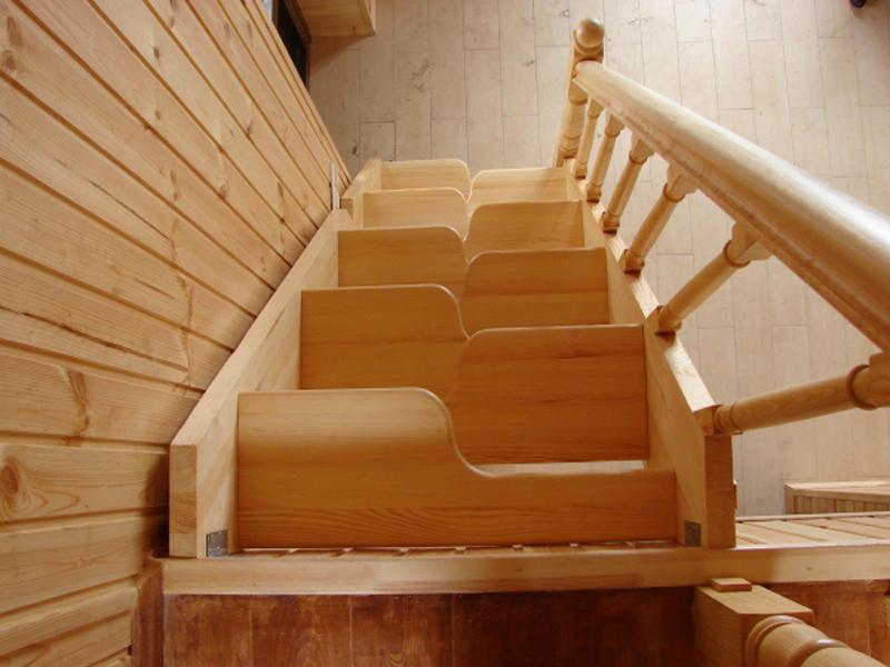 Варианты лестниц на маленькой площади
