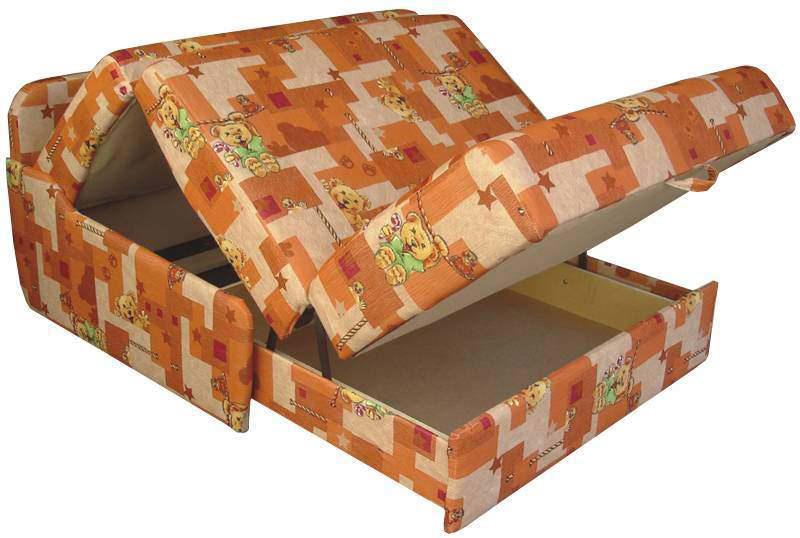 Кухонные диваны типа аккордеон имеют замысловатый способ раскладывания, но позволяют организовать полноценное спальное место