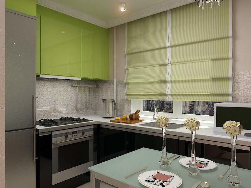 Для малогабаритной кухни подойдут современные узкие модели холодильников