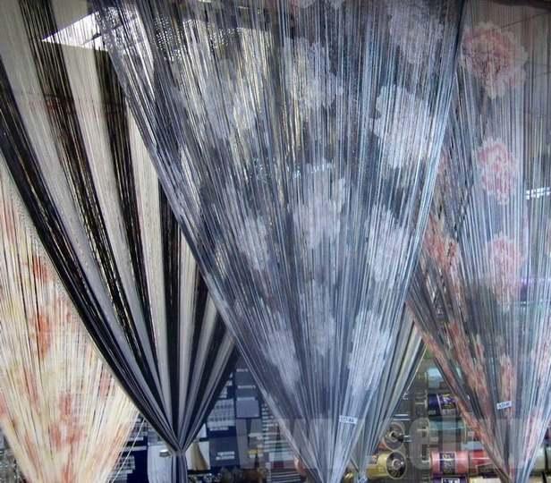 Нитяные шторы: фото веревочных, как оформить занавески своими руками мастер класс, отзывы, магниты для штор, видео