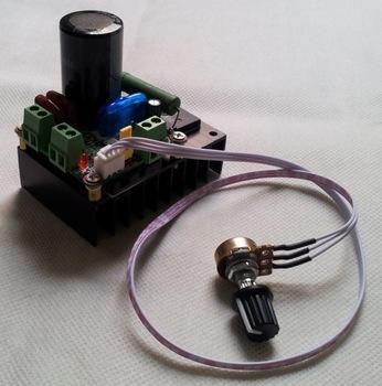 Используя несложную электрическую схему, прибор можно легко модернизировать, добавив к нему функцию изменения частоты оборотов