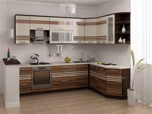 Сочетание цветов по принципу негатива - хороший способ разнообразить дизайн кухни не прибегая к использованию новых цветов
