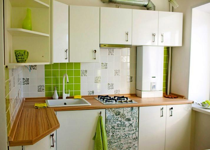Газовая колонка может стать неотъемлемой частью интерьера вашей кухни
