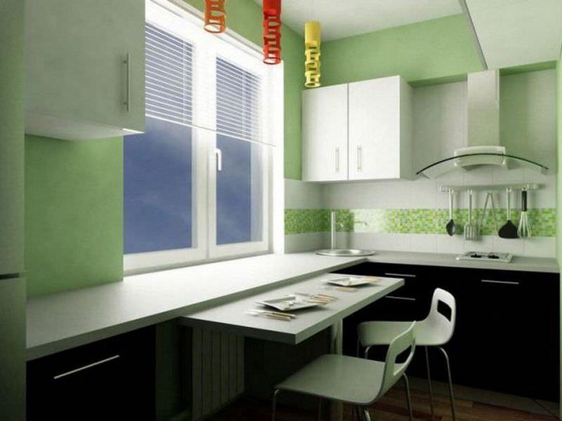 Трансформирующаяся мебель – отличный вариант для небольшого интерьера