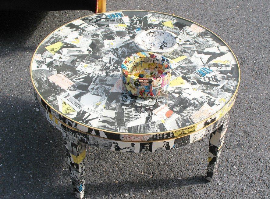 С интересными идеями декупажа старой мебели можно ознакомиться на просторах интернета