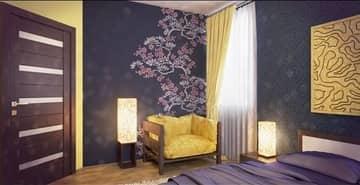 Правильно подобранные узоры и расцветка обоев могут доставить эстетическое удовольствие