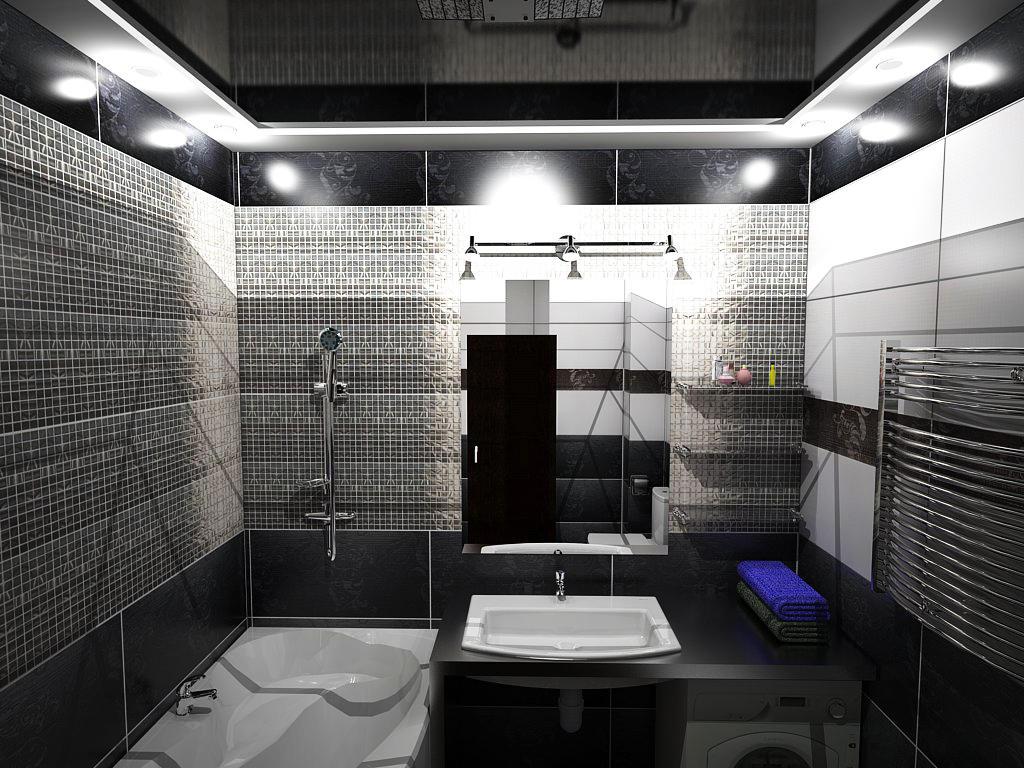 Навесные потолки в ванную комнату