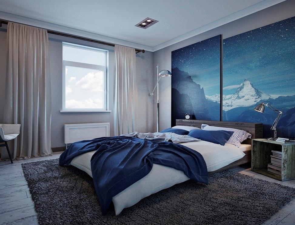 Спальня – это главная комната отдыха, поэтому в ней должна царить успокаивающая и уютная атмосфера