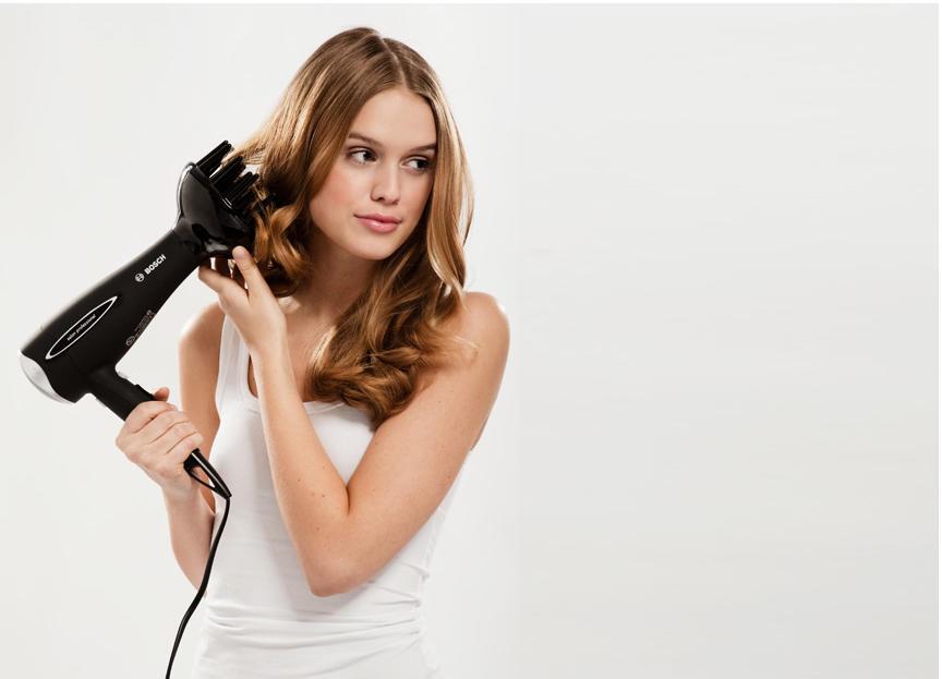 Диффузором можно сделать укладку волос любой длины