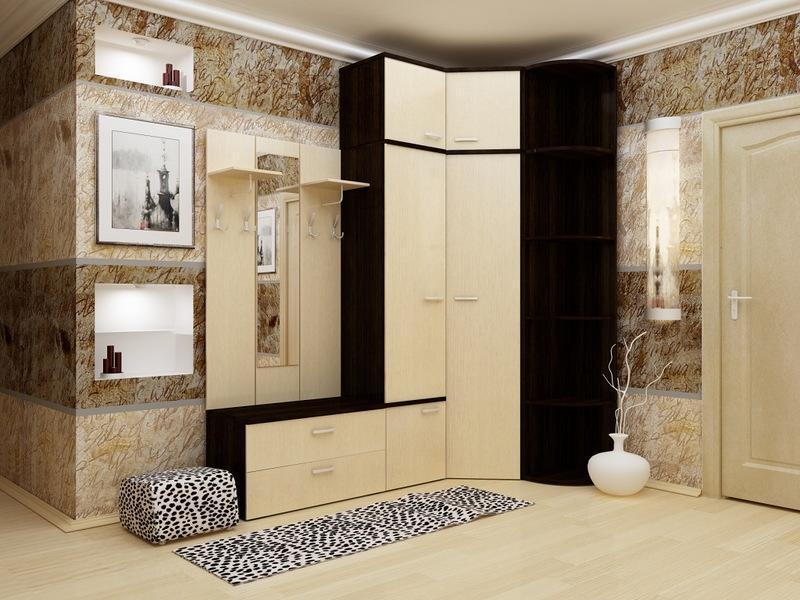 Сделать прихожую не только красивой, но и функциональной, вам поможет практичный и компактный мебельный гарнитур