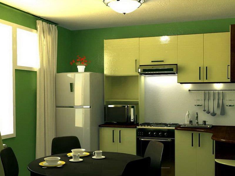 Правильно спланированное освещение – залог удобства эксплуатации кухни 8 кв м