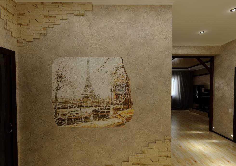 Сделать интерьер изысканным можно при помощи красивой фрески на стене