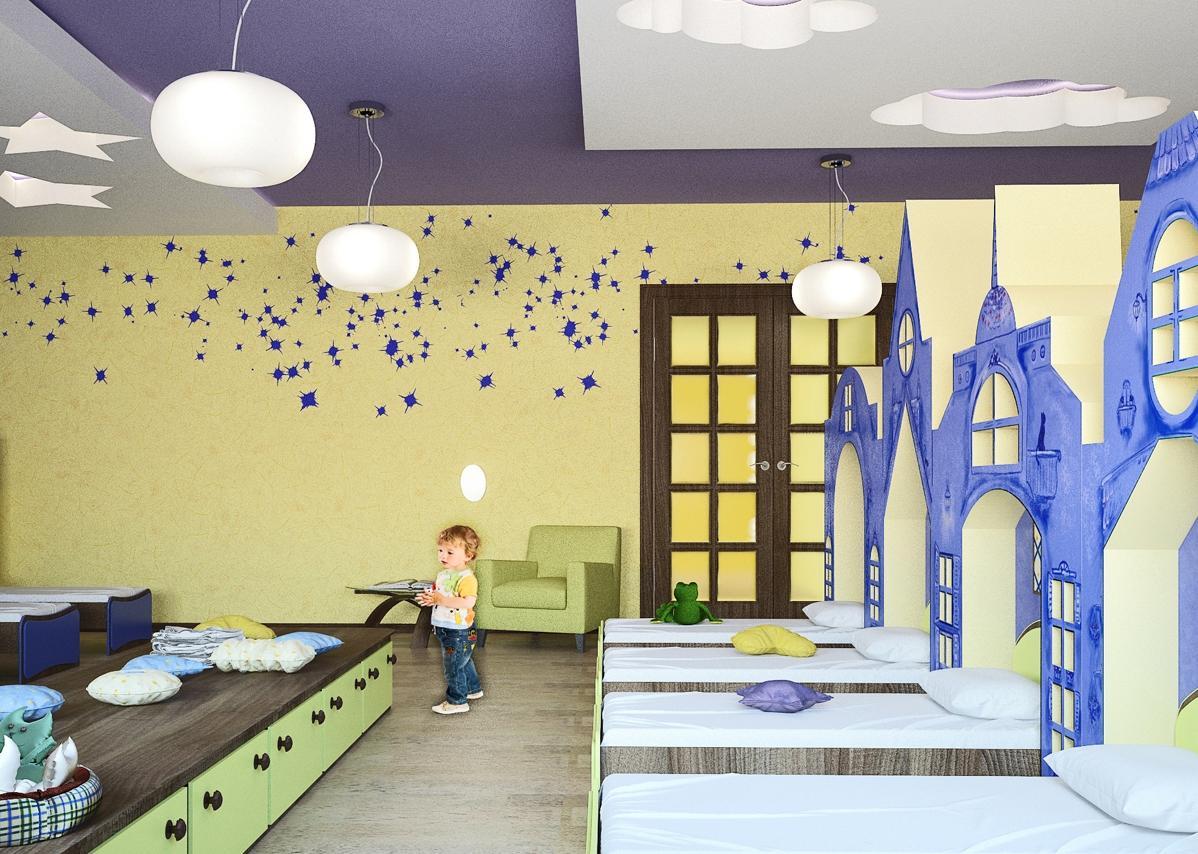 Сделать спальню более уютной и интересной можно при помощи ярких декоративных элементов, которые обязательно понравятся каждому ребенку