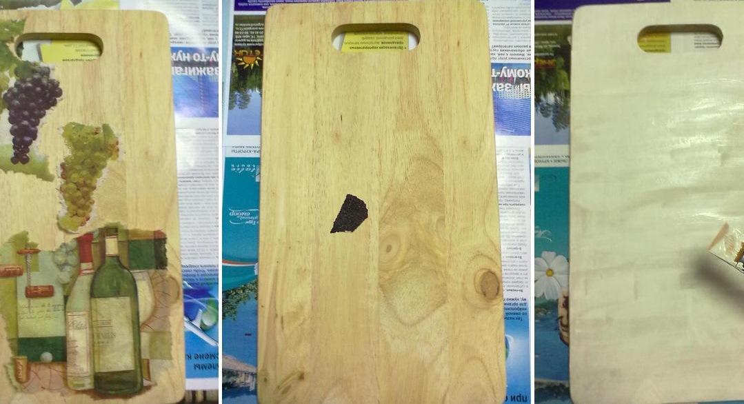 Перед тем как приступать к декупажу, обязательно следует подготовить деревянную поверхность