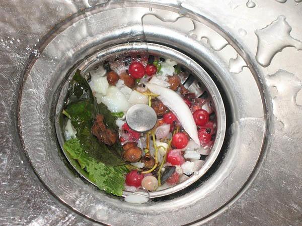 Уксус и сода для прочистки труб