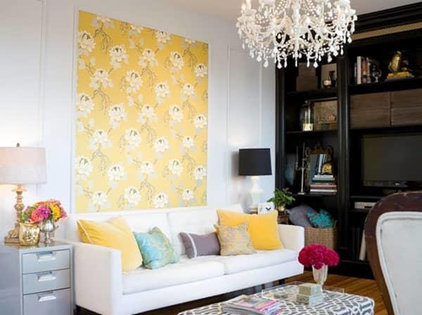 Создавать панно из остатков обоев — современное и оригинальное решение для декорирования помещения