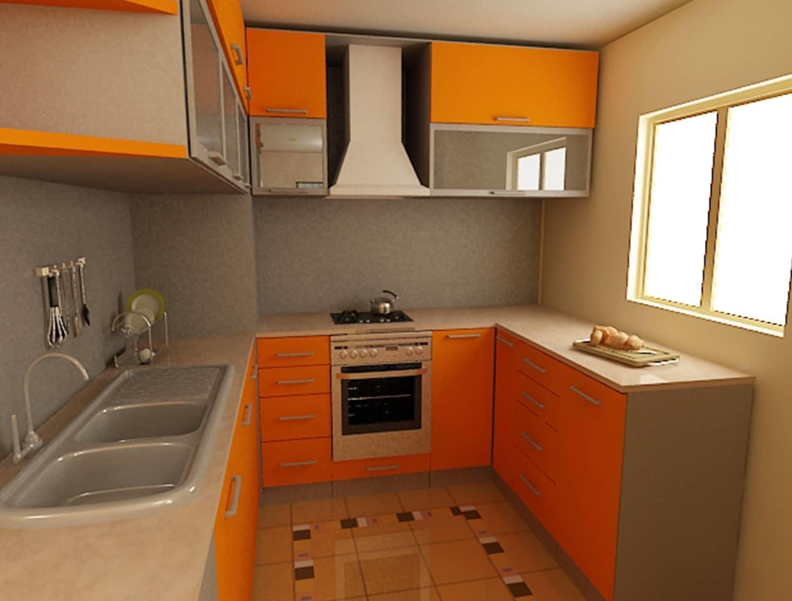 Идеальный вариант планировки кухни в хрущевке — максимально задействовать все углы помещения