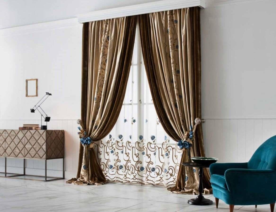 Итальянские шторы могут стать идеальным дополнением любого интерьера и великолепным оформлением большого окна