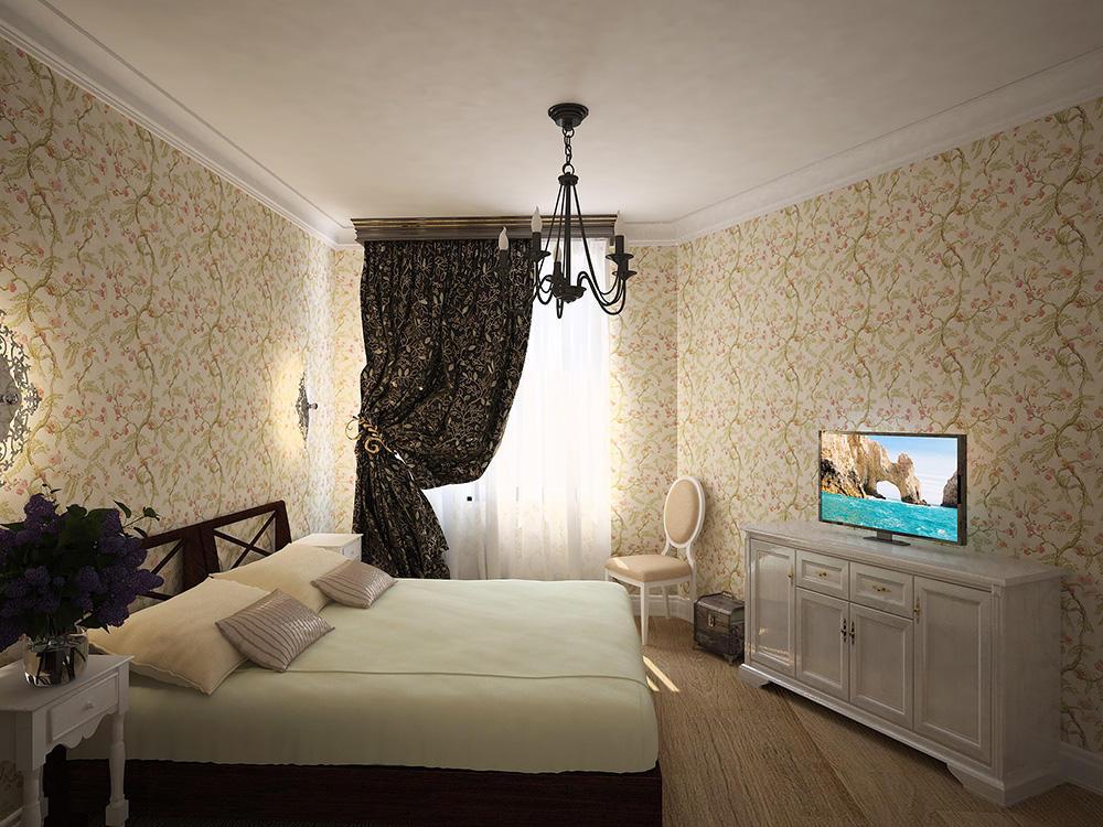 Чердачное помещение также может служить неплохим местом для спальни