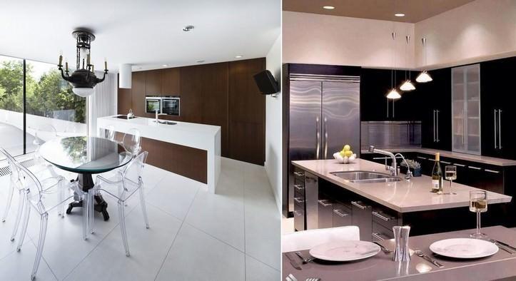 Современные модели кухонных гарнитуров очень функциональны и удобны в использовании